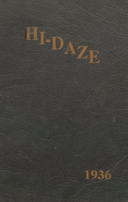 Warren High School - Pine Cone Yearbook (Warren, AR) online yearbook collection, 1936 Edition, Page 1