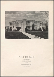 Page 7, 1942 Edition, Warren High School - Pine Cone Yearbook (Warren, AR) online yearbook collection