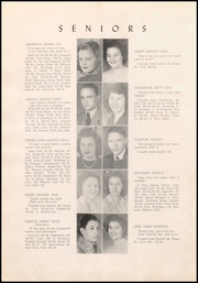 Page 16, 1945 Edition, Warren High School - Pine Cone Yearbook (Warren, AR) online yearbook collection