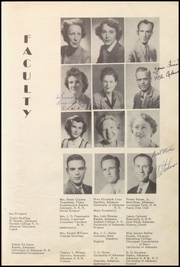 Page 15, 1950 Edition, Warren High School - Pine Cone Yearbook (Warren, AR) online yearbook collection