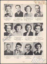 Page 12, 1951 Edition, Warren High School - Pine Cone Yearbook (Warren, AR) online yearbook collection