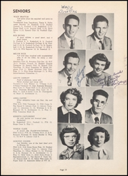 Page 17, 1951 Edition, Warren High School - Pine Cone Yearbook (Warren, AR) online yearbook collection