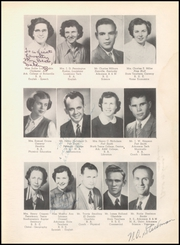 Page 11, 1952 Edition, Warren High School - Pine Cone Yearbook (Warren, AR) online yearbook collection
