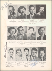 Page 12, 1952 Edition, Warren High School - Pine Cone Yearbook (Warren, AR) online yearbook collection