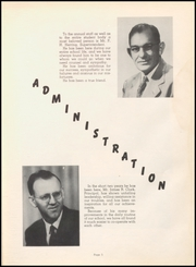 Page 9, 1952 Edition, Warren High School - Pine Cone Yearbook (Warren, AR) online yearbook collection