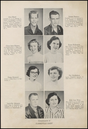 Page 15, 1953 Edition, Clarksville High School - Panther Tracks Yearbook (Clarksville, AR) online yearbook collection
