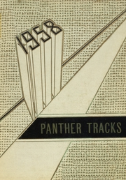 Page 1, 1958 Edition, Clarksville High School - Panther Tracks Yearbook (Clarksville, AR) online yearbook collection