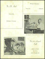 Page 116, 1955 Edition, De Queen High School - Leopard Yearbook (De Queen, AR) online yearbook collection