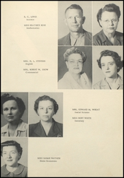 Page 13, 1953 Edition, Lonoke High School - Jackrabbit Yearbook (Lonoke, AR) online yearbook collection