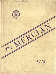 1945 Edition, Mount St Mary Academy - Mercian Yearbook (Little Rock, AR)
