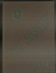 1952 Edition, Mount St Mary Academy - Mercian Yearbook (Little Rock, AR)