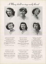 Page 16, 1952 Edition, Mount St Mary Academy - Mercian Yearbook (Little Rock, AR) online yearbook collection
