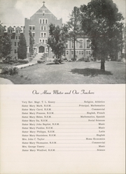 Page 6, 1952 Edition, Mount St Mary Academy - Mercian Yearbook (Little Rock, AR) online yearbook collection