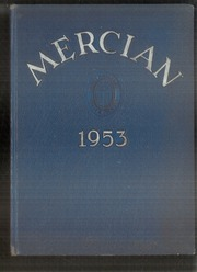 1953 Edition, Mount St Mary Academy - Mercian Yearbook (Little Rock, AR)
