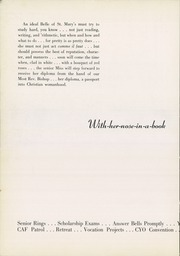 Page 14, 1953 Edition, Mount St Mary Academy - Mercian Yearbook (Little Rock, AR) online yearbook collection