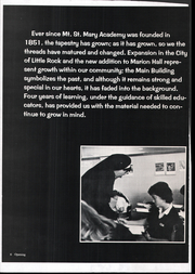 Page 10, 1978 Edition, Mount St Mary Academy - Mercian Yearbook (Little Rock, AR) online yearbook collection
