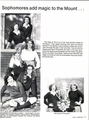 Page 77, 1981 Edition, Mount St Mary Academy - Mercian Yearbook (Little Rock, AR) online yearbook collection