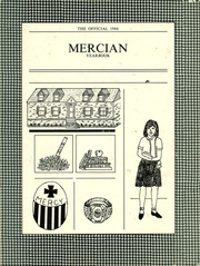 1984 Edition, Mount St Mary Academy - Mercian Yearbook (Little Rock, AR)