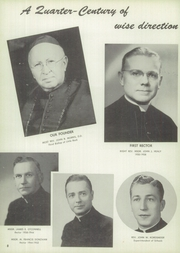 Page 12, 1955 Edition, Catholic Boys High School - Rocket Yearbook (Little Rock, AR) online yearbook collection