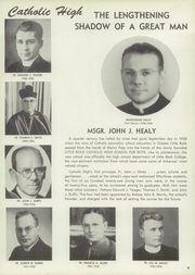 Page 13, 1955 Edition, Catholic Boys High School - Rocket Yearbook (Little Rock, AR) online yearbook collection