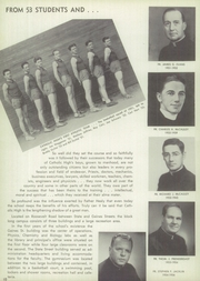 Page 14, 1955 Edition, Catholic Boys High School - Rocket Yearbook (Little Rock, AR) online yearbook collection