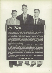 Page 5, 1955 Edition, Catholic Boys High School - Rocket Yearbook (Little Rock, AR) online yearbook collection
