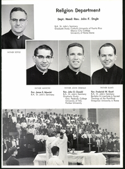 Page 13, 1967 Edition, Catholic Boys High School - Rocket Yearbook (Little Rock, AR) online yearbook collection
