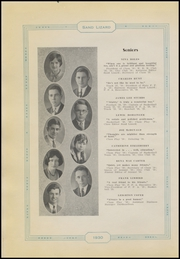 Page 12, 1930 Edition, Dardanelle High School - Sand Lizard Yearbook (Dardanelle, AR) online yearbook collection
