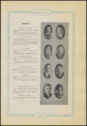 Page 13, 1930 Edition, Dardanelle High School - Sand Lizard Yearbook (Dardanelle, AR) online yearbook collection