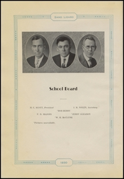 Page 8, 1930 Edition, Dardanelle High School - Sand Lizard Yearbook (Dardanelle, AR) online yearbook collection