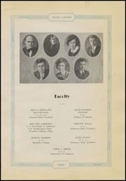 Page 9, 1930 Edition, Dardanelle High School - Sand Lizard Yearbook (Dardanelle, AR) online yearbook collection