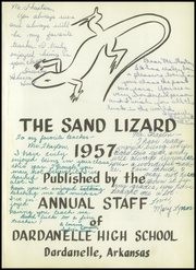 Page 5, 1957 Edition, Dardanelle High School - Sand Lizard Yearbook (Dardanelle, AR) online yearbook collection