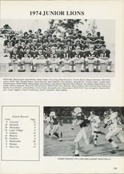 Page 113, 1975 Edition, Hamburg High School - Lion Yearbook (Hamburg, AR) online yearbook collection
