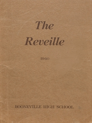 Page 1, 1940 Edition, Booneville High School - Reveille Yearbook (Booneville, AR) online yearbook collection