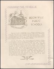 Page 12, 1940 Edition, Booneville High School - Reveille Yearbook (Booneville, AR) online yearbook collection