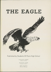 Page 5, 1947 Edition, Paris High School - Eagle Yearbook (Paris, AR) online yearbook collection