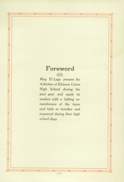 Page 5, 1929 Edition, Elsinore Union High School - El Lago Yearbook (Wildomar, CA) online yearbook collection