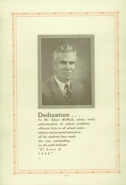 Page 6, 1929 Edition, Elsinore Union High School - El Lago Yearbook (Wildomar, CA) online yearbook collection