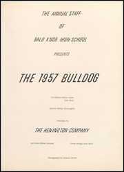 Page 7, 1957 Edition, Bald Knob High School - Bulldog Yearbook (Bald Knob, AR) online yearbook collection