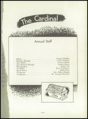 Page 3, 1960 Edition, Fairview High School - Cardinal Yearbook (Camden, AR) online yearbook collection
