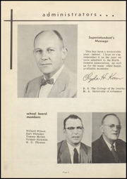 Page 12, 1957 Edition, Harrisburg High School - Hornet Yearbook (Harrisburg, AR) online yearbook collection