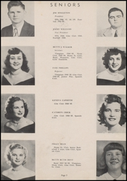 Page 11, 1949 Edition, Marked Tree High School - Pow Wow Yearbook (Marked Tree, AR) online yearbook collection