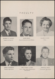 Page 7, 1949 Edition, Marked Tree High School - Pow Wow Yearbook (Marked Tree, AR) online yearbook collection
