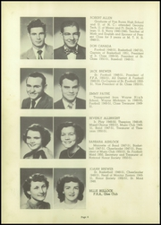 Page 10, 1951 Edition, Marked Tree High School - Pow Wow Yearbook (Marked Tree, AR) online yearbook collection
