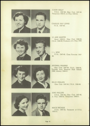 Page 14, 1951 Edition, Marked Tree High School - Pow Wow Yearbook (Marked Tree, AR) online yearbook collection