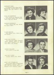 Page 15, 1951 Edition, Marked Tree High School - Pow Wow Yearbook (Marked Tree, AR) online yearbook collection