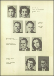 Page 8, 1951 Edition, Marked Tree High School - Pow Wow Yearbook (Marked Tree, AR) online yearbook collection