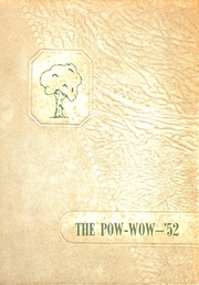 Marked Tree High School - Pow Wow Yearbook (Marked Tree, AR) online yearbook collection, 1952 Edition, Page 1