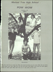 Page 5, 1981 Edition, Marked Tree High School - Pow Wow Yearbook (Marked Tree, AR) online yearbook collection