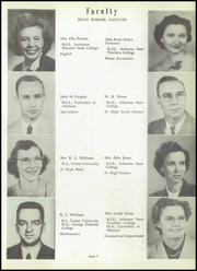 Page 11, 1952 Edition, Walnut Ridge High School - Bobcat Yearbook (Walnut Ridge, AR) online yearbook collection